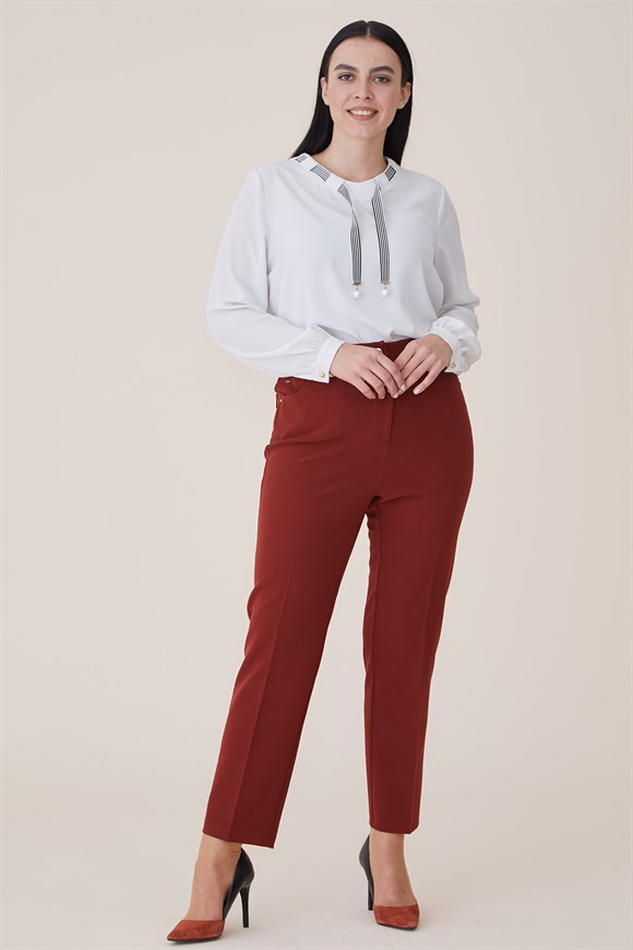 Marsala - Pant With Pocket